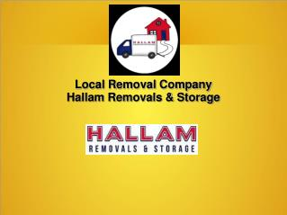 Local Removal Company Sheffield