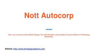 Winnipeg used cars for sale