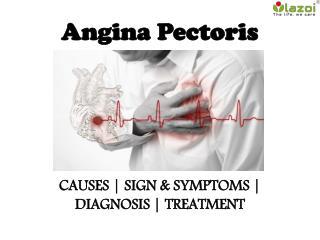 Angina pectoris : causes, symptoms, diagnosis and treatment