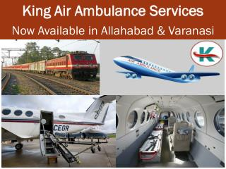 Get King Air Ambulance Services in Varanasi