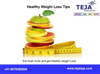 Healthy Weight loss Programs at Teja's