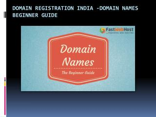 the Difference Between Domain Names,Website and Web Hosting?