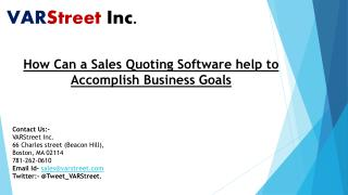 How Can a Sales Quoting Software help to Accomplish Business Goals
