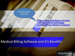 Medical billing software and it's benefits