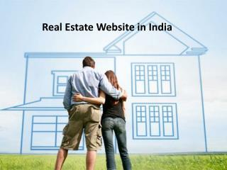 real estate websites in india