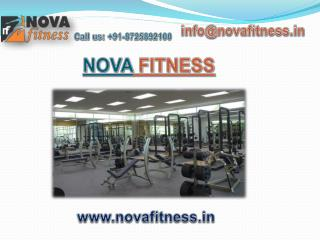 Fitness Equipment Manufacturer in India