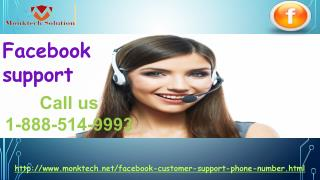 Is Facebook Support genuinely capable 1-888-514-9993?