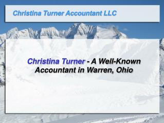 Christina Turner - A Well-Known Accountant in Warren, Ohio