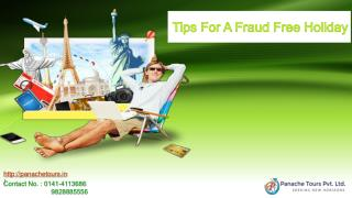 Tips For A Fraud Free Holiday