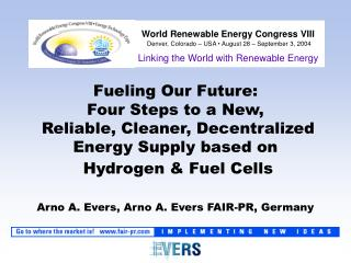 Linking the World with Renewable Energy