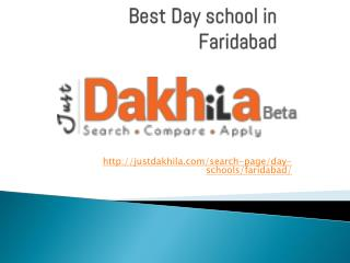 best day schools in faridabad