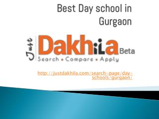 best day schools in gurgaon