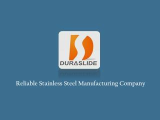 Stainless Steel Manufacturing Company