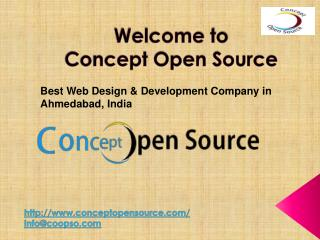 Concept Open Source - Best Web Design & Development Company in India