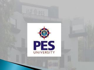 PES University Bangalore | PES University Admission | Direct Admission In PES University Bangalore
