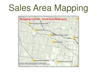 Sales Area Mapping