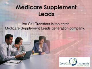 Generate Medicare supplement leads