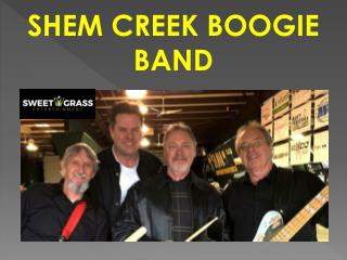 SHEM CREEK BOOGIE BAND