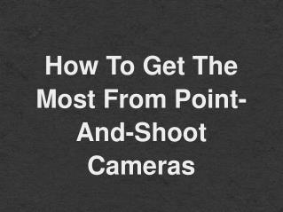 Buy Best Point and Shoot Digital Camera