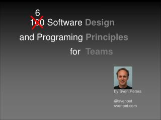 Software Programming Principles