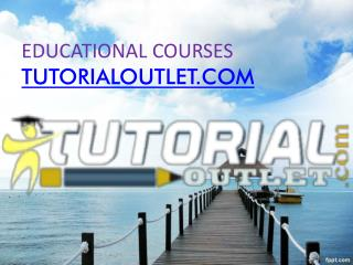 Educational courses/tutorialoutlet.com