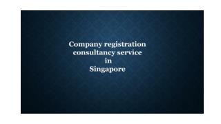Company registration consultant in Singapore