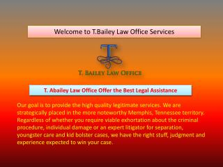 Best Criminal Attorney in Tennessee