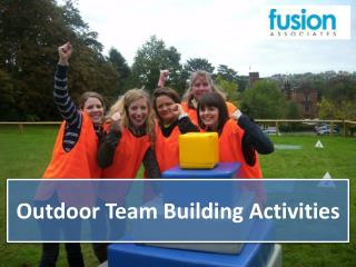 Outdoor Team Building Activities