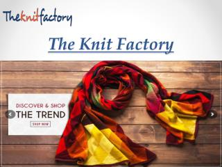 The Knit Factory-Woollen Ponchos Online