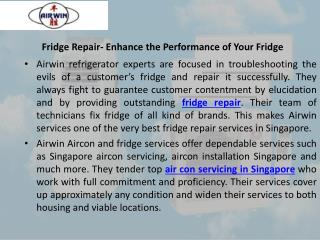 Ensure clean and fresh air with aircon cleaning services