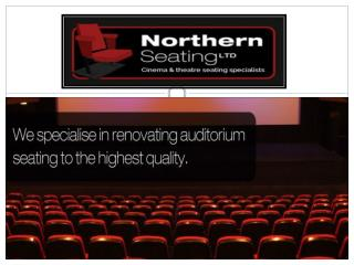 Traditional theatre seating supplier