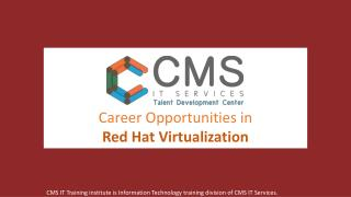 Career Opportunities In Red Hat Virtualization