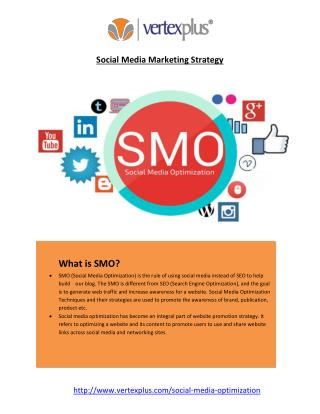 Social Media Optimization Strategies