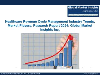 Global Revenue Cycle Management Healthcare Market to reach $100bn by 2024