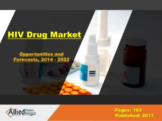 HIV Drug Market Research & Industry Analysis, 2022