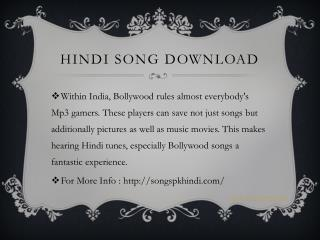 hindi songs download