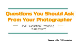 What is The Importance of Wedding Photography?