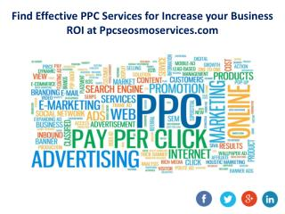 Edit Privacy Settings Analytics FREE Find Effective PPC Services for Increase your Business ROI at Ppcseosmoservices