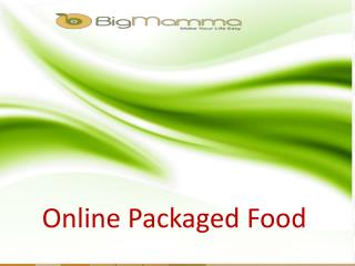 Online Packaged Food Items