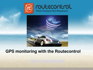 GPS Monitoring With the Routecontrol