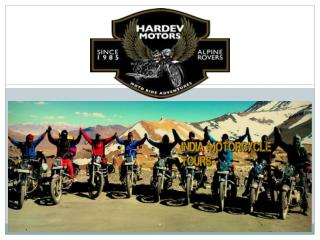 Guided Motorcycle tours in Ladakh, india and Himalayan