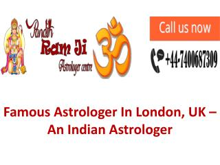 Famous Indian Vedic Astrologer In London, UK