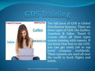 GDS Training Online