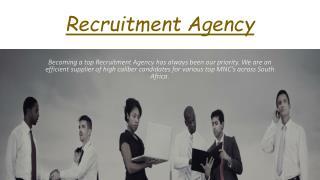 Recruitment Agency equityinsights.co.za