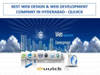 Web development company in Hyderabad