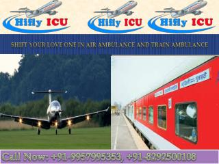 Get Emergency Air Ambulance Services in Guwahati by Hifly ICU