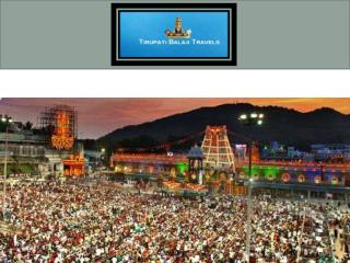 Tirupati tour package from Chennai