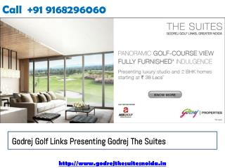 Golf Links Presenting Godrej The Suites Luxury Apartments Greater Noida