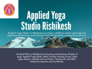 Drop-in Yoga Classes in Rishikesh