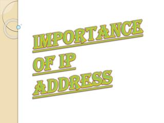 Why We Need to Know About IP Address?